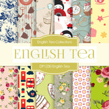 English Tea Digital Paper DP1230 - Digital Paper Shop - 1