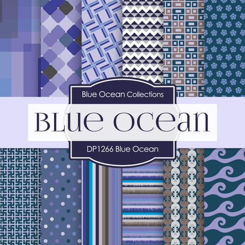 Blue Ocean Digital Paper DP1266 - Digital Paper Shop - 1