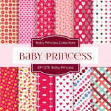 Baby Princess Digital Paper DP1278 - Digital Paper Shop - 1