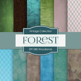 Woodlands Digital Paper DP1280 - Digital Paper Shop - 1