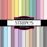 Stripes Digital Paper DP131 - Digital Paper Shop - 1