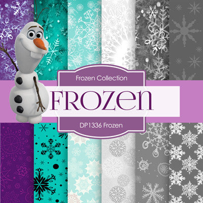 Frozen Digital Paper DP1336 - Digital Paper Shop - 1