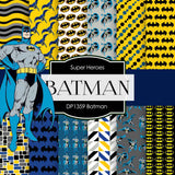 Batman Digital Paper DP1359 - Digital Paper Shop - 1