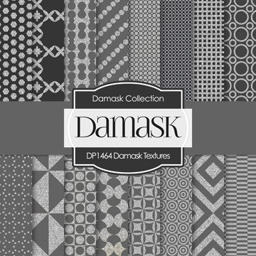 Damask Textures Digital Paper DP1464 - Digital Paper Shop - 1