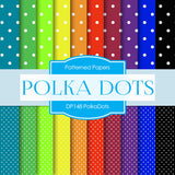 Polkadots Digital Paper DP148 - Digital Paper Shop - 1