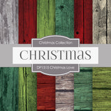 Christmas Love Digital Paper DP1515 - Digital Paper Shop - 1