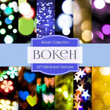 Bokeh Textures Digital Paper DP1558 - Digital Paper Shop - 1