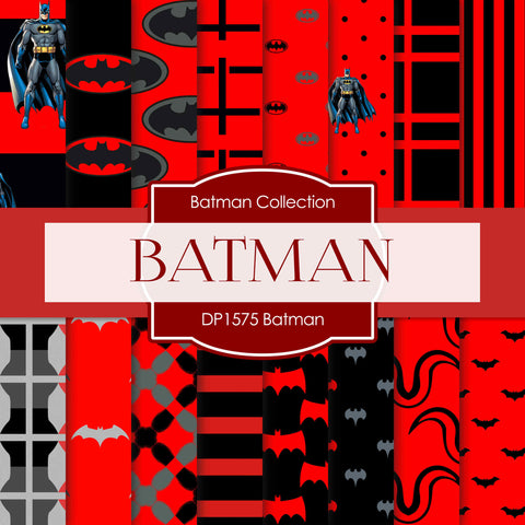 Batman Digital Paper DP1575 - Digital Paper Shop - 1