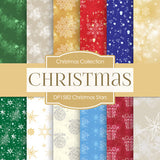 Christmas Stars Digital Paper DP1582 - Digital Paper Shop - 1