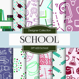 School Digital Paper DP1633 - Digital Paper Shop - 1