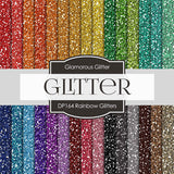 Rainbow Glitters Digital Paper DP164 - Digital Paper Shop - 1