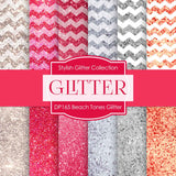 Beach Tones Glitter Digital Paper DP165 - Digital Paper Shop - 1