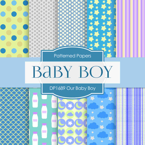 Our Baby Girl Digital Paper DP1689 - Digital Paper Shop