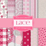 Lace Digital Paper DP1691 - Digital Paper Shop - 1