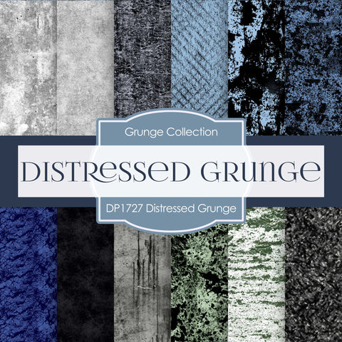 Distressed Grunge Digital Paper DP1727 - Digital Paper Shop - 1