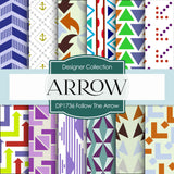 Follow The Arrow Digital Paper DP1736 - Digital Paper Shop - 1