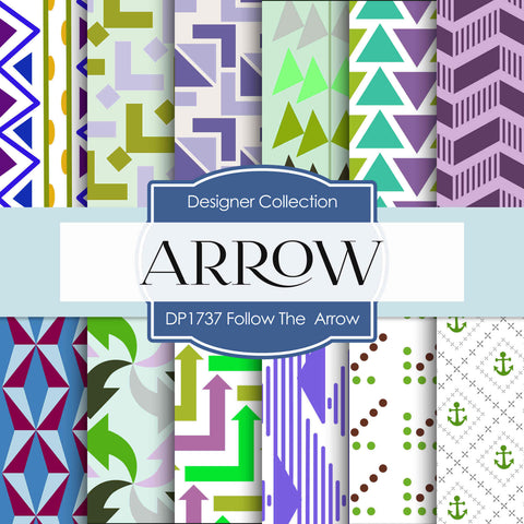 Follow The Arrow Digital Paper DP1737 - Digital Paper Shop - 1