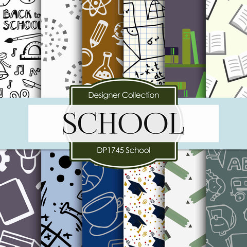 School Digital Paper DP1745 - Digital Paper Shop - 1