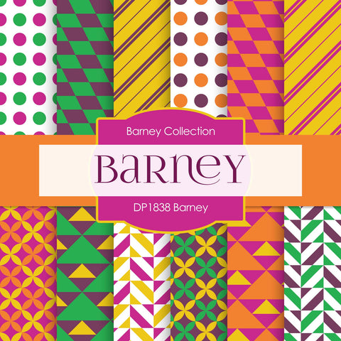 Barney Digital Paper DP1838 - Digital Paper Shop - 1