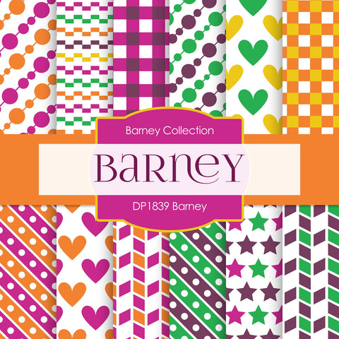 Barney Digital Paper DP1839 - Digital Paper Shop - 1