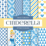 Cinderella Digital Paper DP1864 - Digital Paper Shop - 1