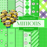 Minions Digital Paper DP1903 - Digital Paper Shop - 1