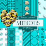 Minions Digital Paper DP1907 - Digital Paper Shop - 1