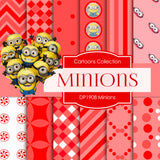 Minions Digital Paper DP1908 - Digital Paper Shop - 1