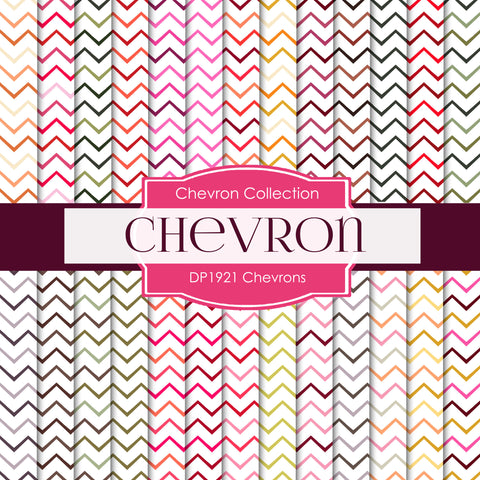 Chevrons Digital Paper DP1921 - Digital Paper Shop - 1