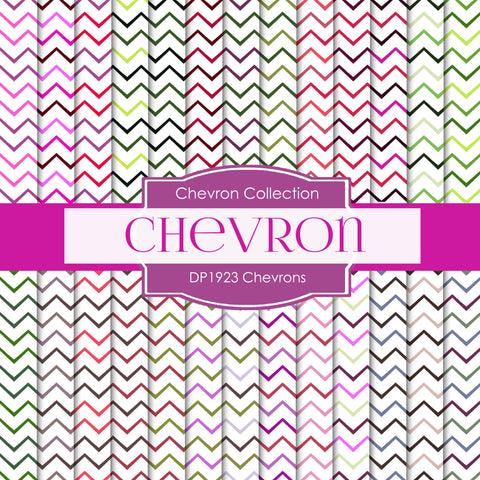 Chevrons Digital Paper DP1923 - Digital Paper Shop - 1