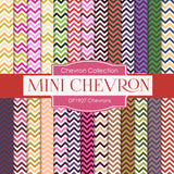 Chevrons Digital Paper DP1927 - Digital Paper Shop - 1
