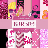 Barbie Digital Paper DP1946 - Digital Paper Shop - 1
