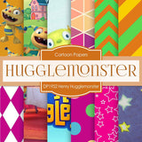 Henry Hugglemonster Digital Paper DP1952 - Digital Paper Shop - 1