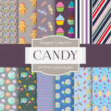Candy Buffet Digital Paper DP1976 - Digital Paper Shop - 1