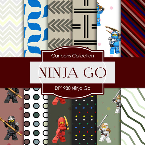Ninja Go Digital Paper DP1980 - Digital Paper Shop - 1