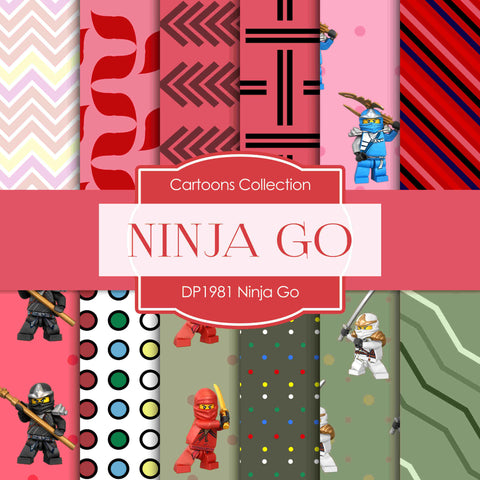 Ninja Go Digital Paper DP1981 - Digital Paper Shop - 1
