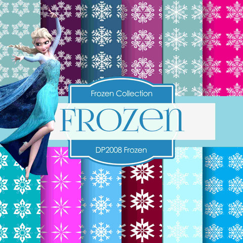 Frozen Digital Paper DP2008 - Digital Paper Shop - 1