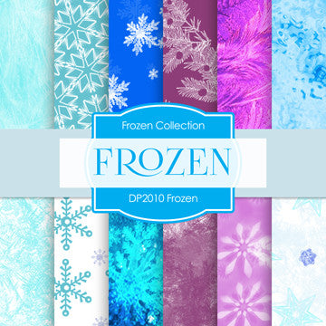 Frozen Digital Paper DP2010 - Digital Paper Shop - 1