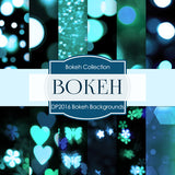 Bokeh Backgrounds Digital Paper DP2016 - Digital Paper Shop - 1
