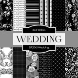 Wedding Digital Paper DP2045 - Digital Paper Shop - 1
