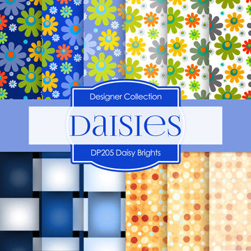 Daisy Brights Digital Paper DP205 - Digital Paper Shop - 1