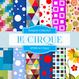 Le Cirque Digital Paper DP208 - Digital Paper Shop - 1