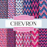 Chevrons Digital Paper DP2080 - Digital Paper Shop - 1