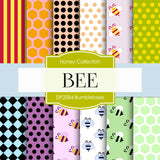 Bumblebees Digital Paper DP2084 - Digital Paper Shop - 1