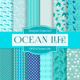 Ocean Life Digital Paper DP210 - Digital Paper Shop - 1