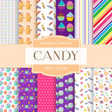 Candy Digital Paper DP211 - Digital Paper Shop - 1