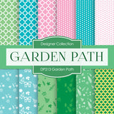Garden Path Digital Paper DP213 - Digital Paper Shop - 1