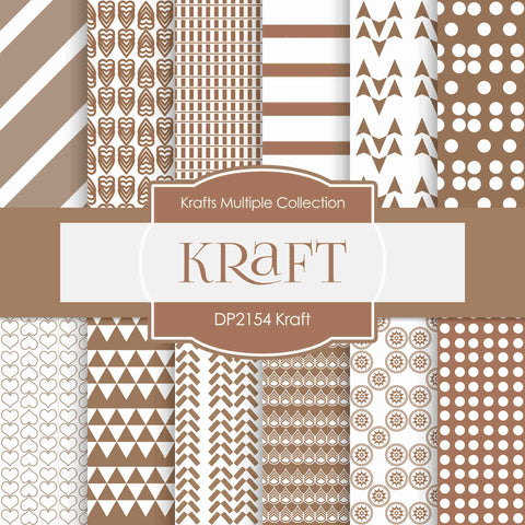 Kraft Digital Paper DP2154 - Digital Paper Shop - 1