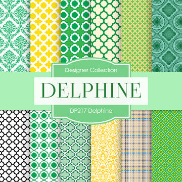 Delphine Digital Paper DP217 - Digital Paper Shop - 1