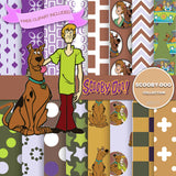 Scooby Doo Digital Paper DP2171 - Digital Paper Shop - 1